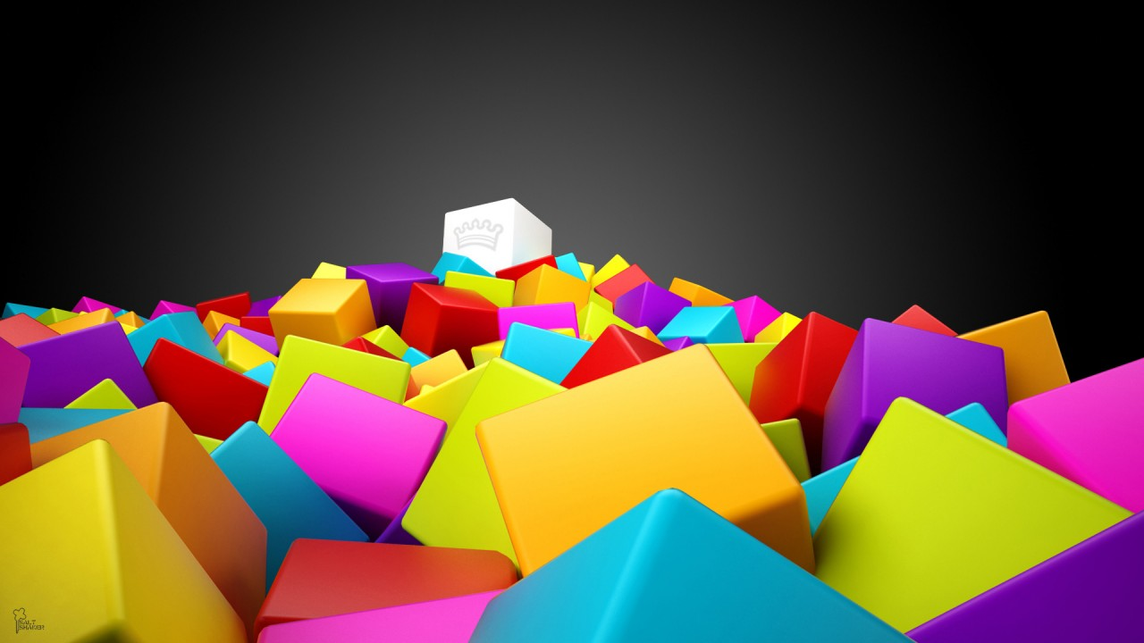 Abstract 3D Colorful