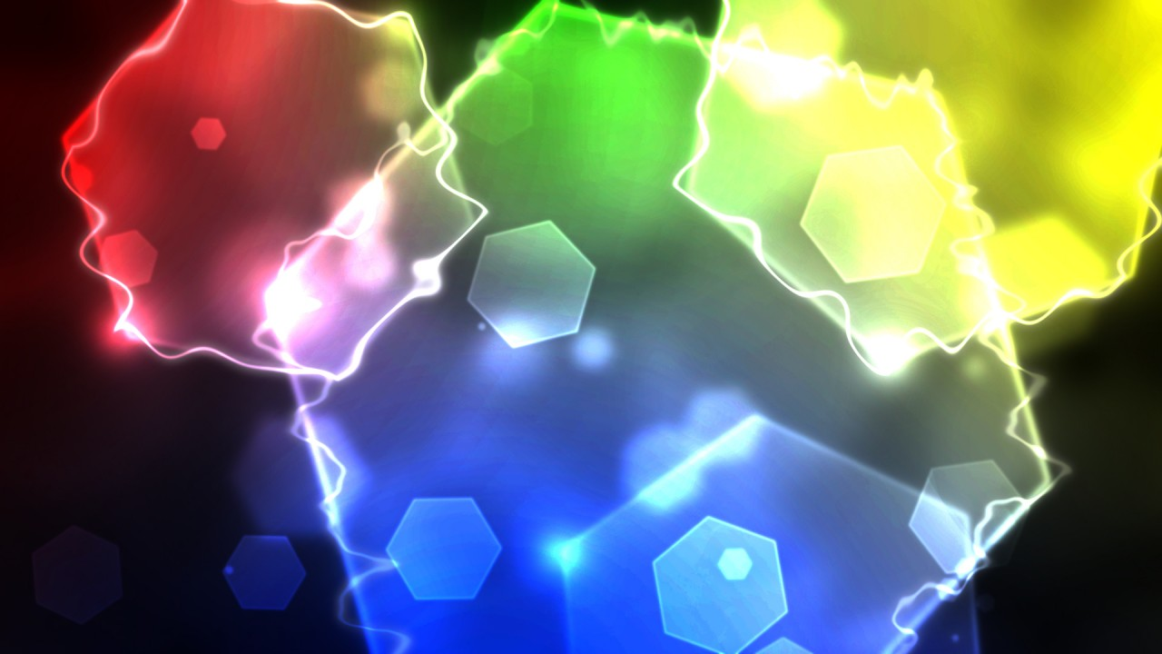 Abstract Hexagon Wallpaper