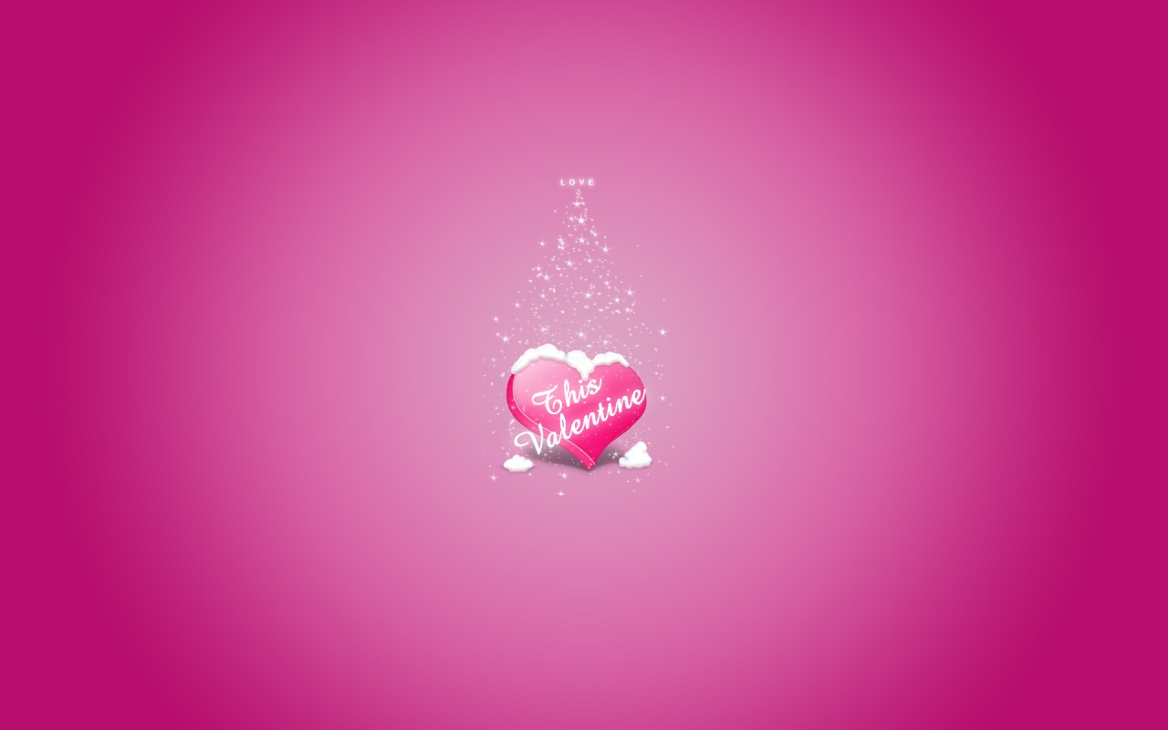 Valentine Pink wallpaper