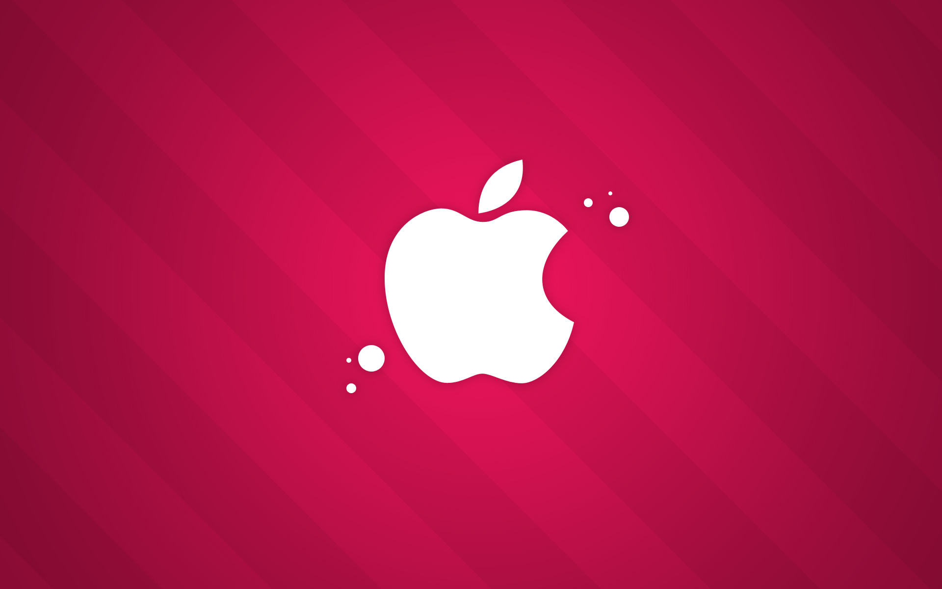 apple pink wallpaper