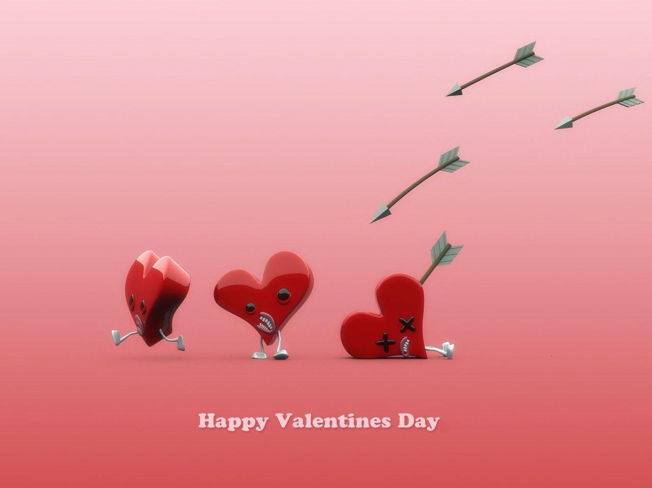 funny valentine day wallpaper