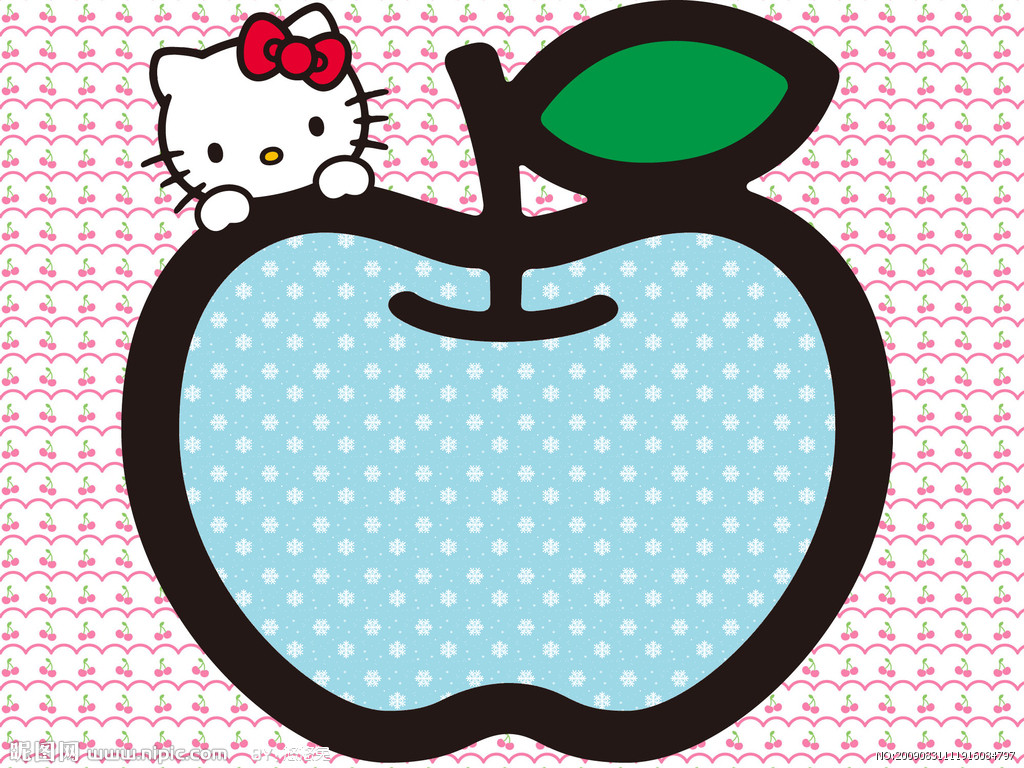 hello-kitty-love-apples