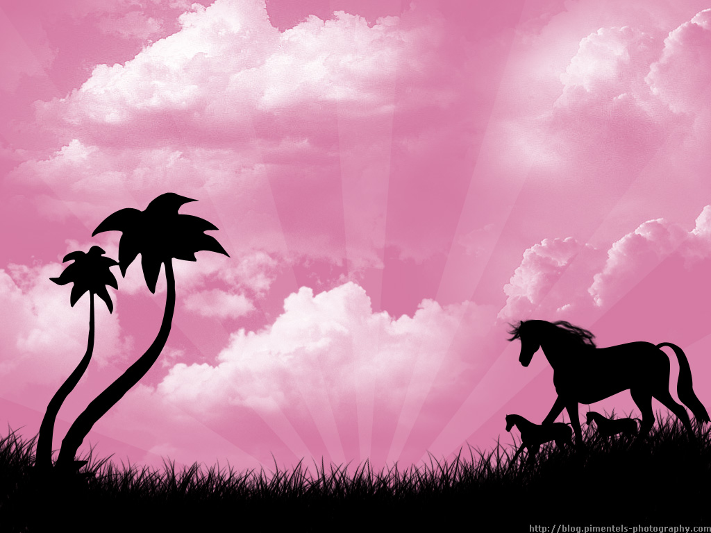 Pics Photos - Pink Designs Horses Pink Design Image