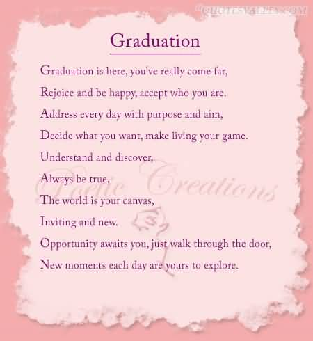 quotes for graduation