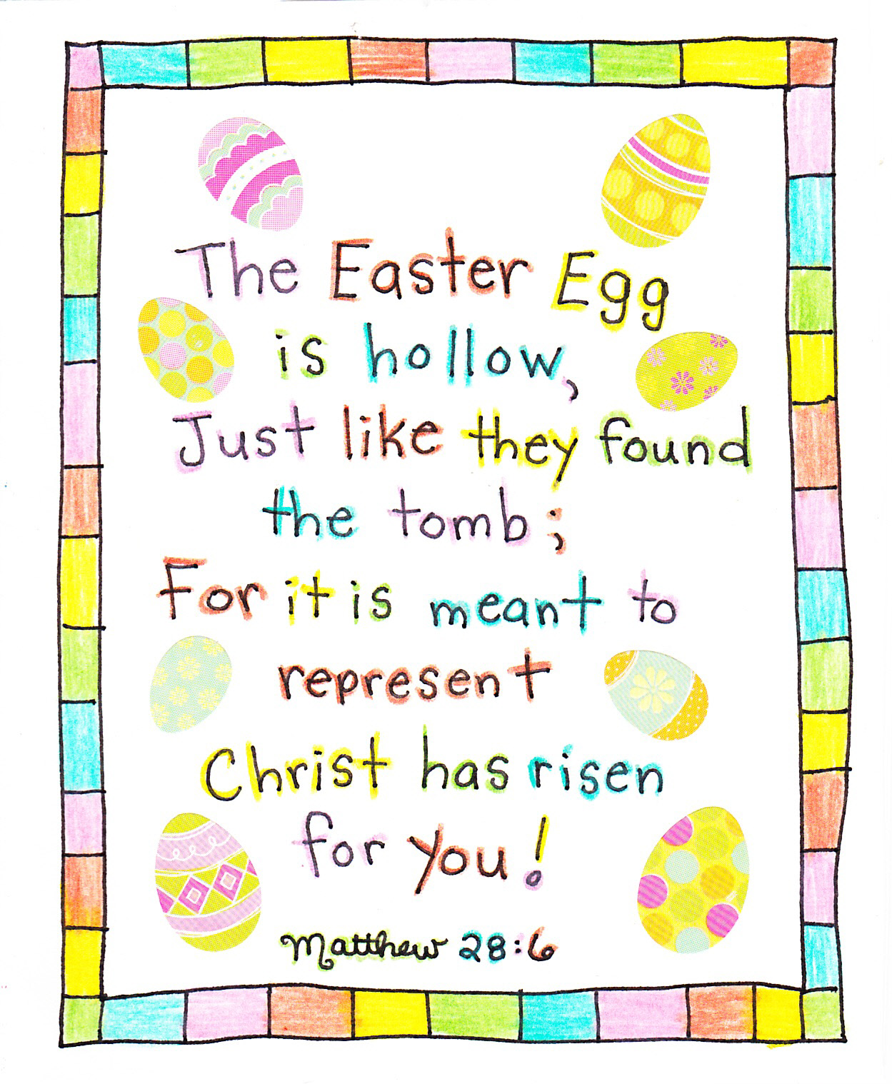 easter poems for kids - photo #3