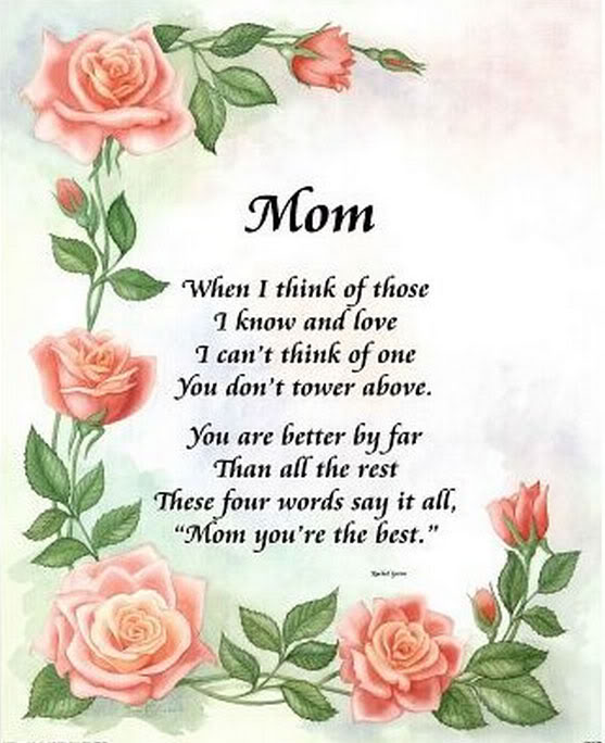 25 Heart Touching Mothers Day Poems 2019