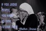 judge people mother teresa