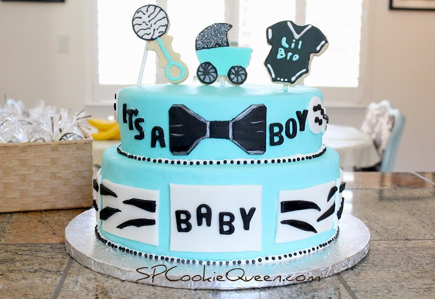 Marvelous Baby Shower Cake