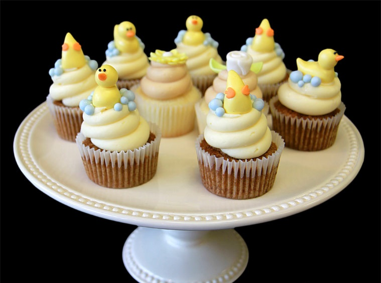 duckies-baby-shower-cupcakes