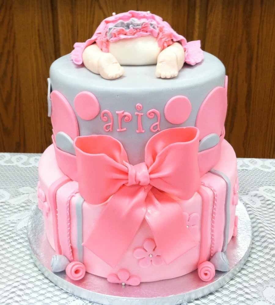 Simple Baby Shower Cake Ideas