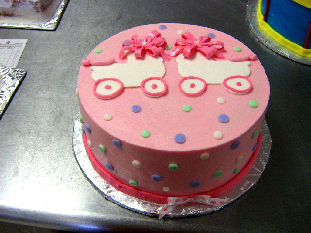twin-girls-baby-shower-cakes
