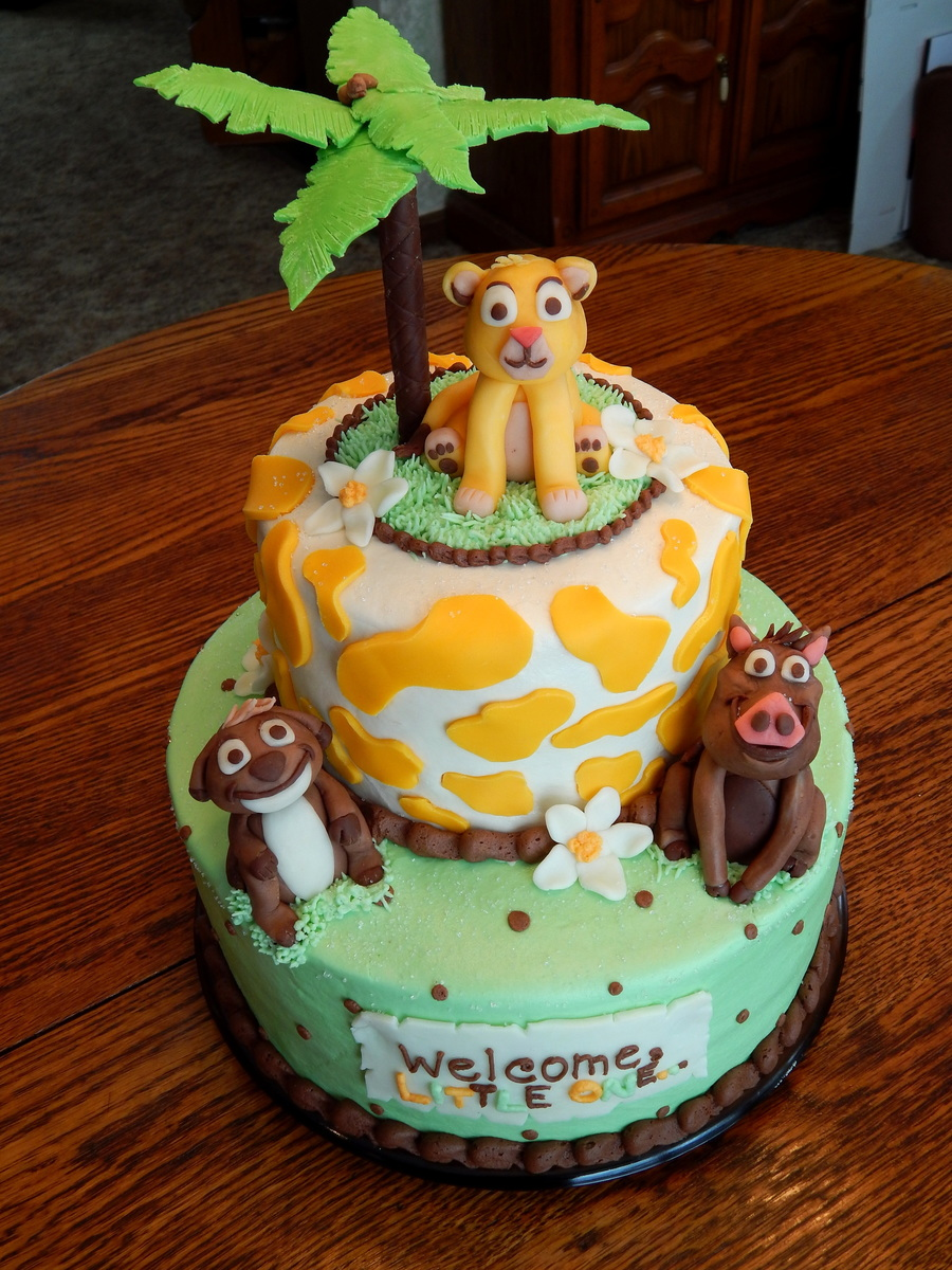 lion-king-baby-shower-cake