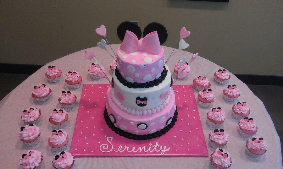 minnie-mouse-baby-shower-cake