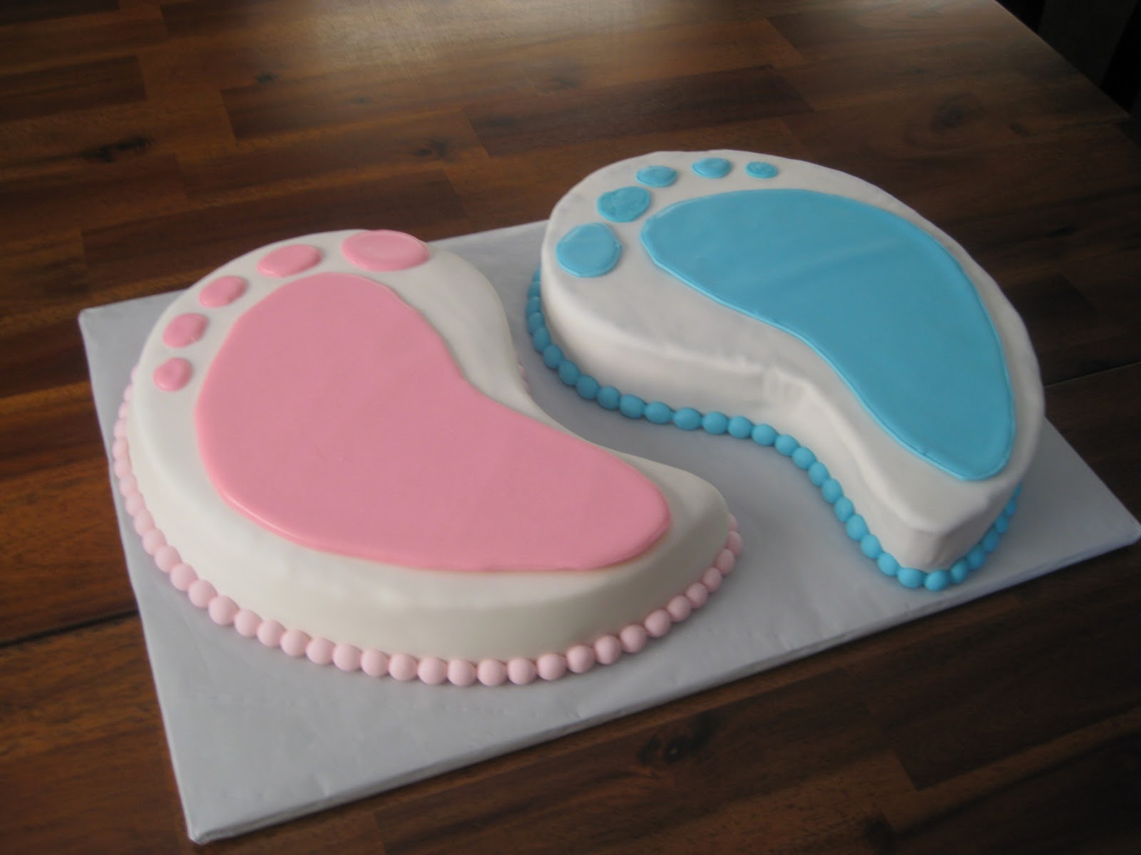 Cake Ideas For Boy Girl Twins : Baby Shower Cakes