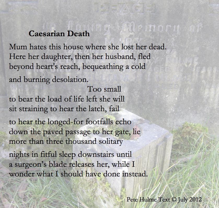 poems about death
