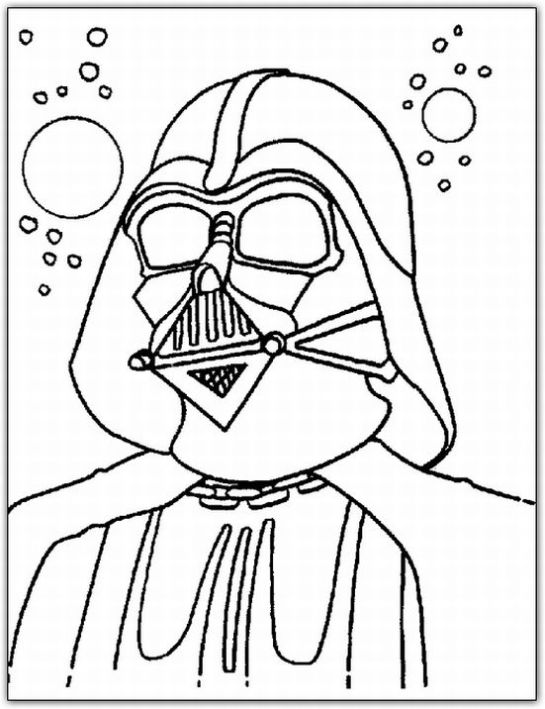 star wars coloring page - Star Wars Coloring Books