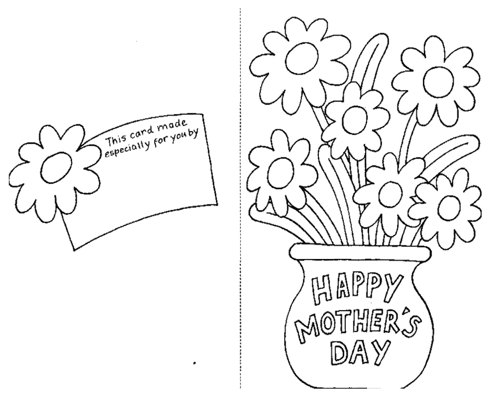 graphic about Printable Mothers Day Cards to Color Pdf identified as Descargar Pdf E-book 25 Moms Working day Coloring Webpages For Children