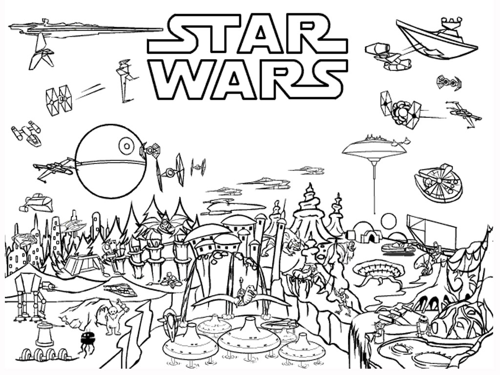 Lego Star Wars Rebels Kleurplaten.45 Star Wars Coloring Pages For You