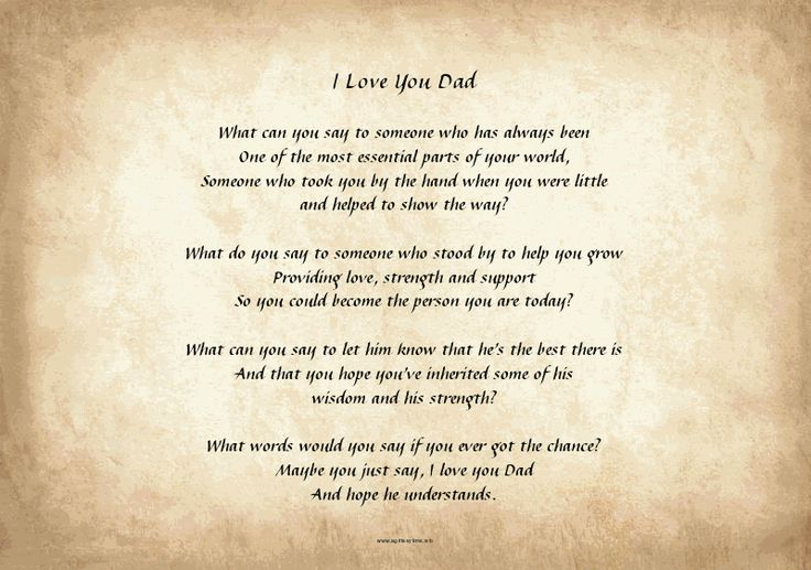 dad poems - photo #4