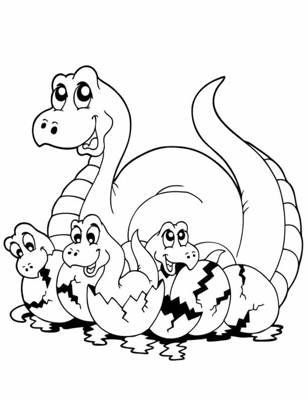 dinosaur fight coloring pages - photo#24