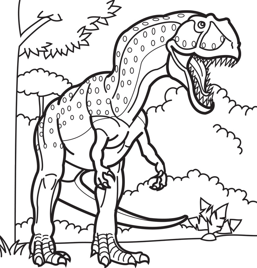 dinosaur-coloring-pages