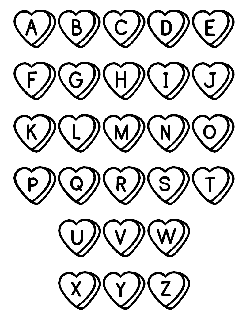 Alphabet i coloring pages - Alphabet Coloring Pages