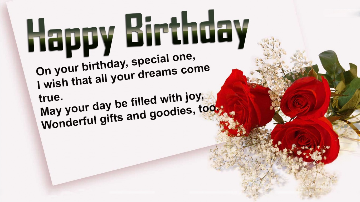 Beautiful Birthday wishes and Quote