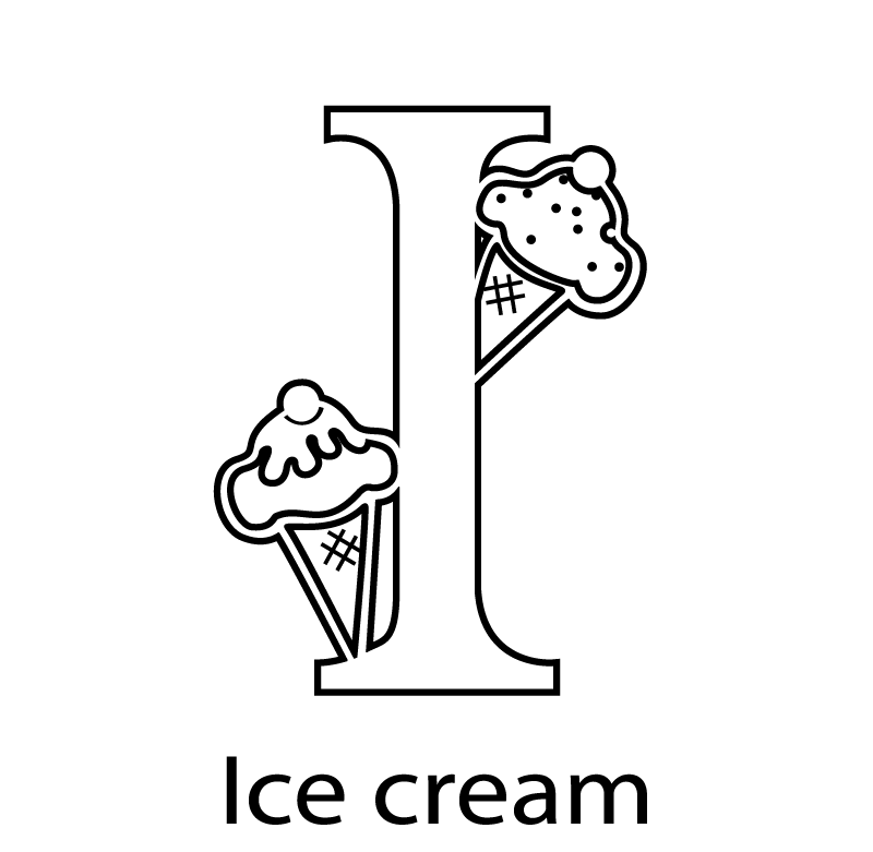 kids-alphabet-color-pages-i-for-ice-cream