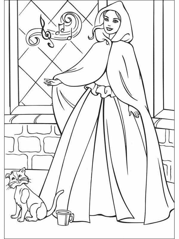 barbie coloring pages dresser | 40 Barbie Coloring Pages For Kids