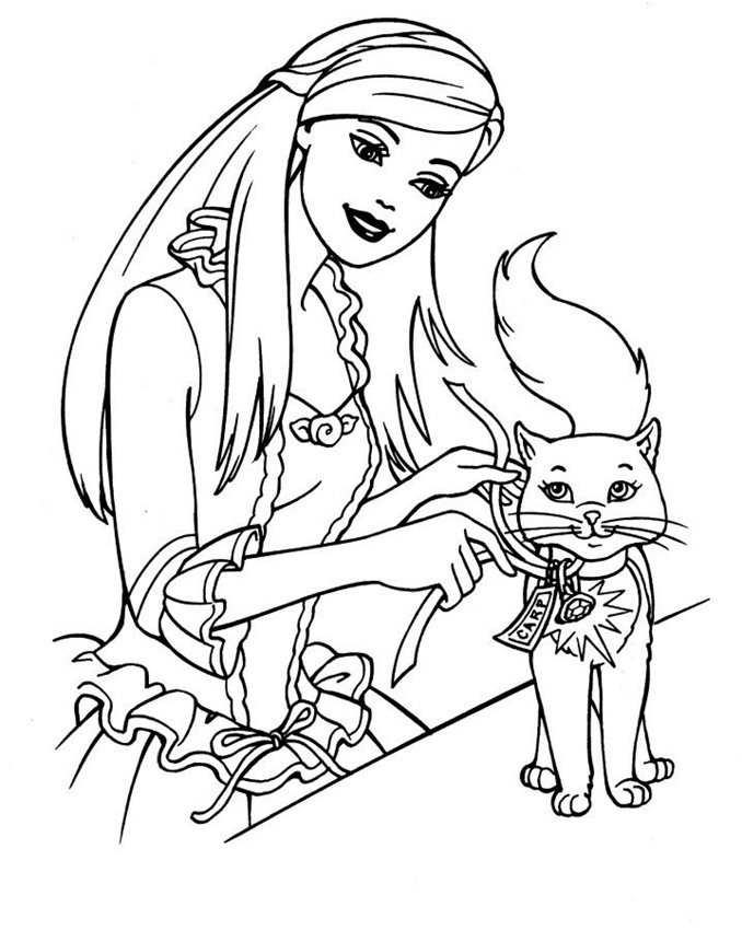 barbie coloring pages 2015 free