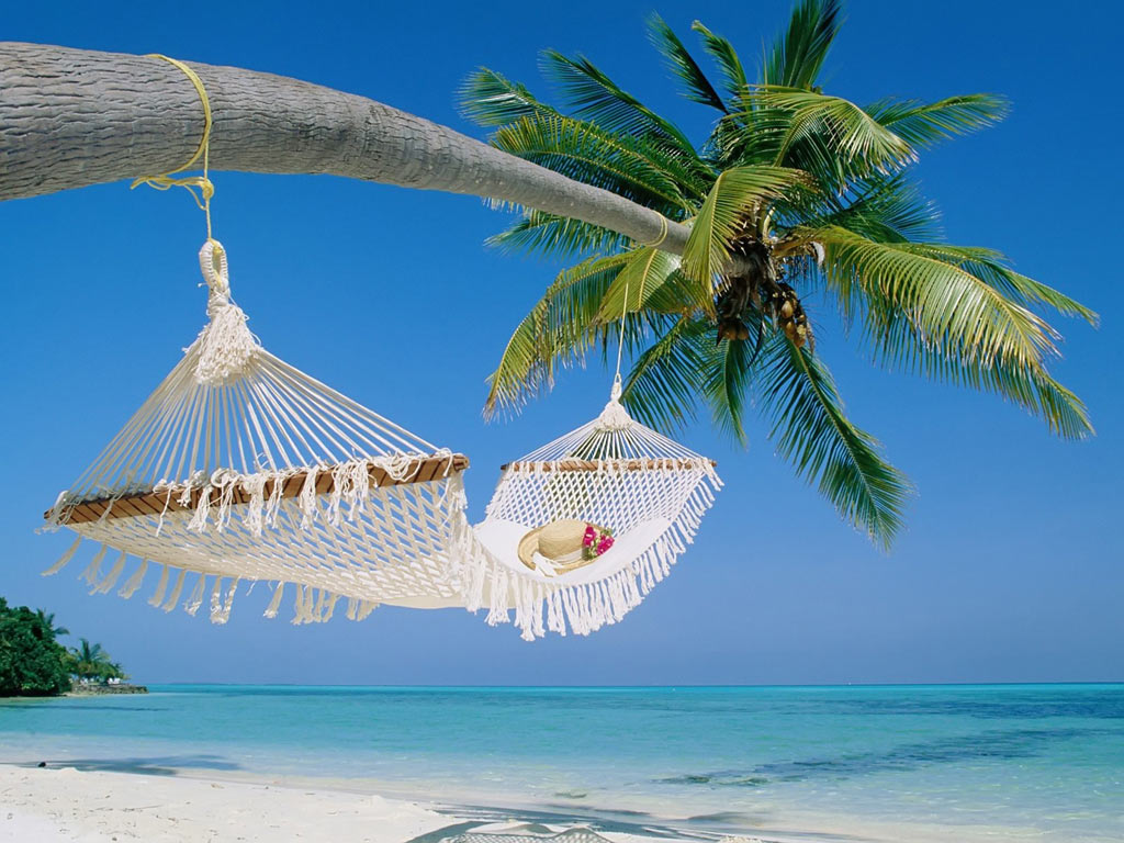 beach swing awesome HD wallpaper 2015