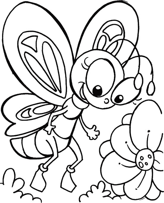 cool coloring pages of butterfly 2016