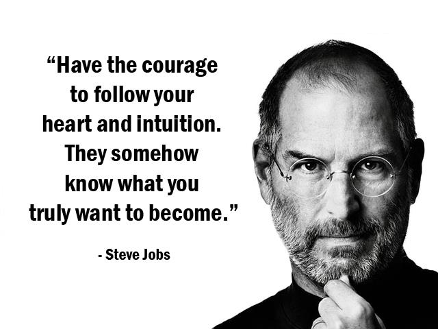 great quote of steve jobs
