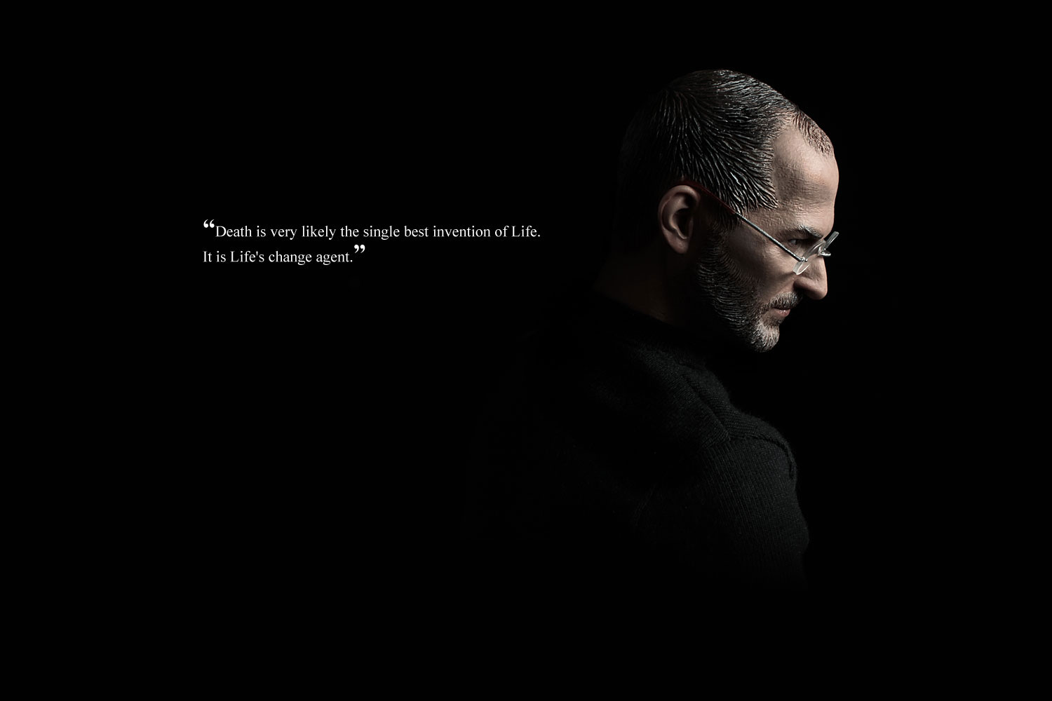 life and death steve jobs quote