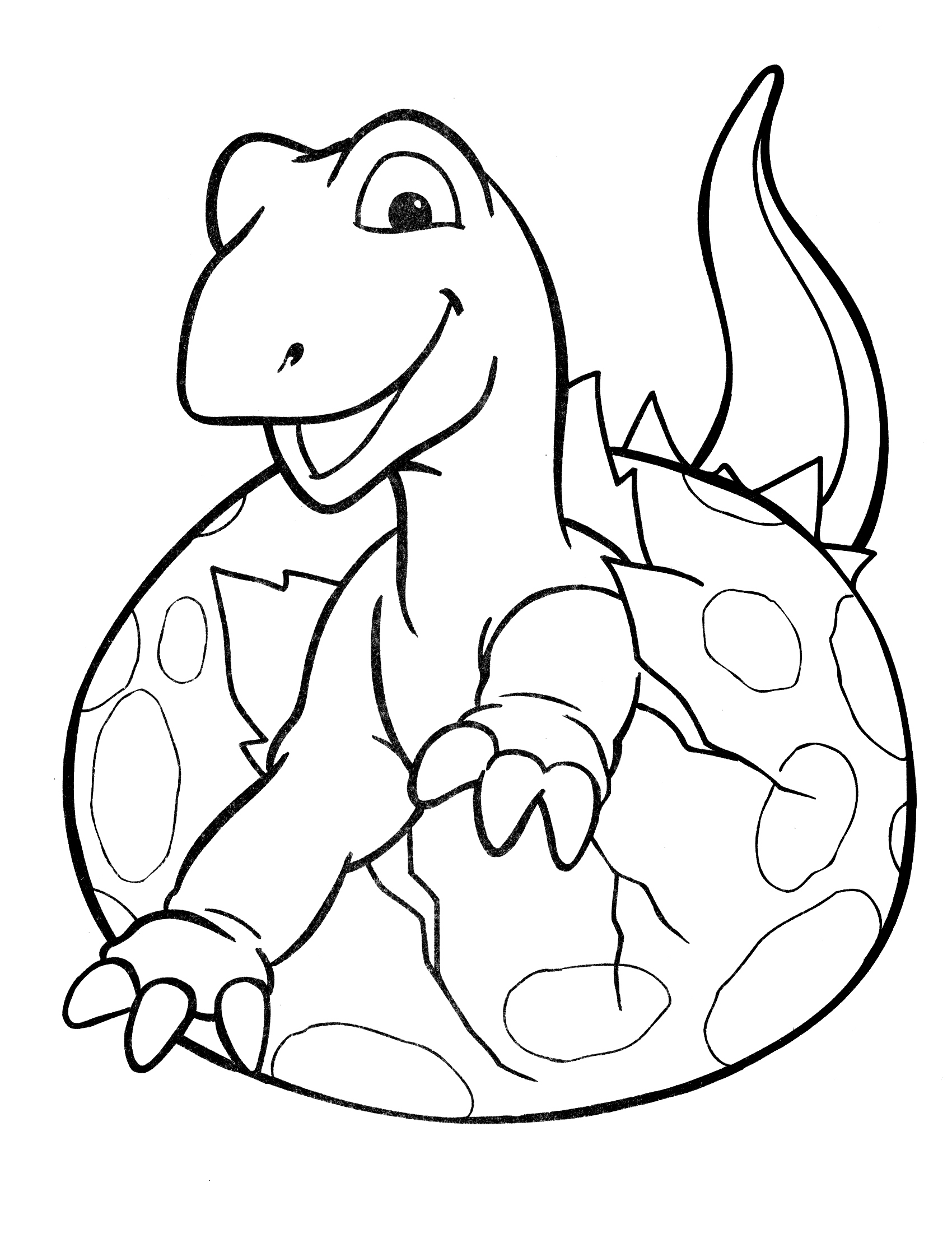 dino free coloring pages for kids - Crayola Coloring Pages