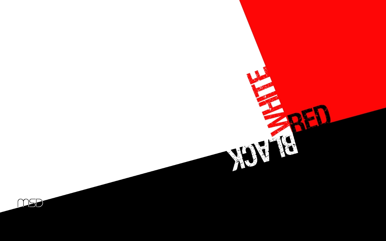 red and black white wallpaper