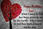 say happy birthday to love birthday quote