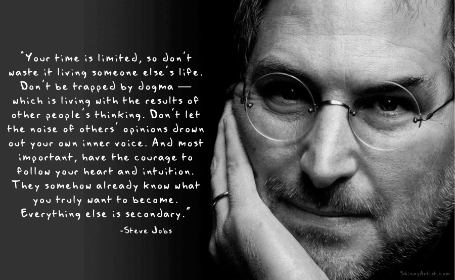 time is limited steve jobs quotes