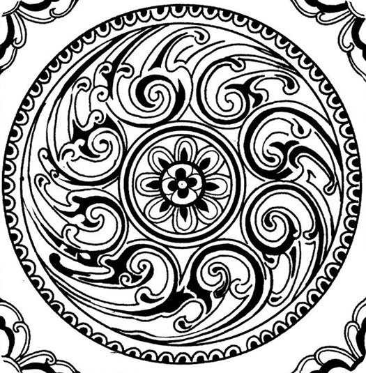 wonderful and nice mandala coloring page