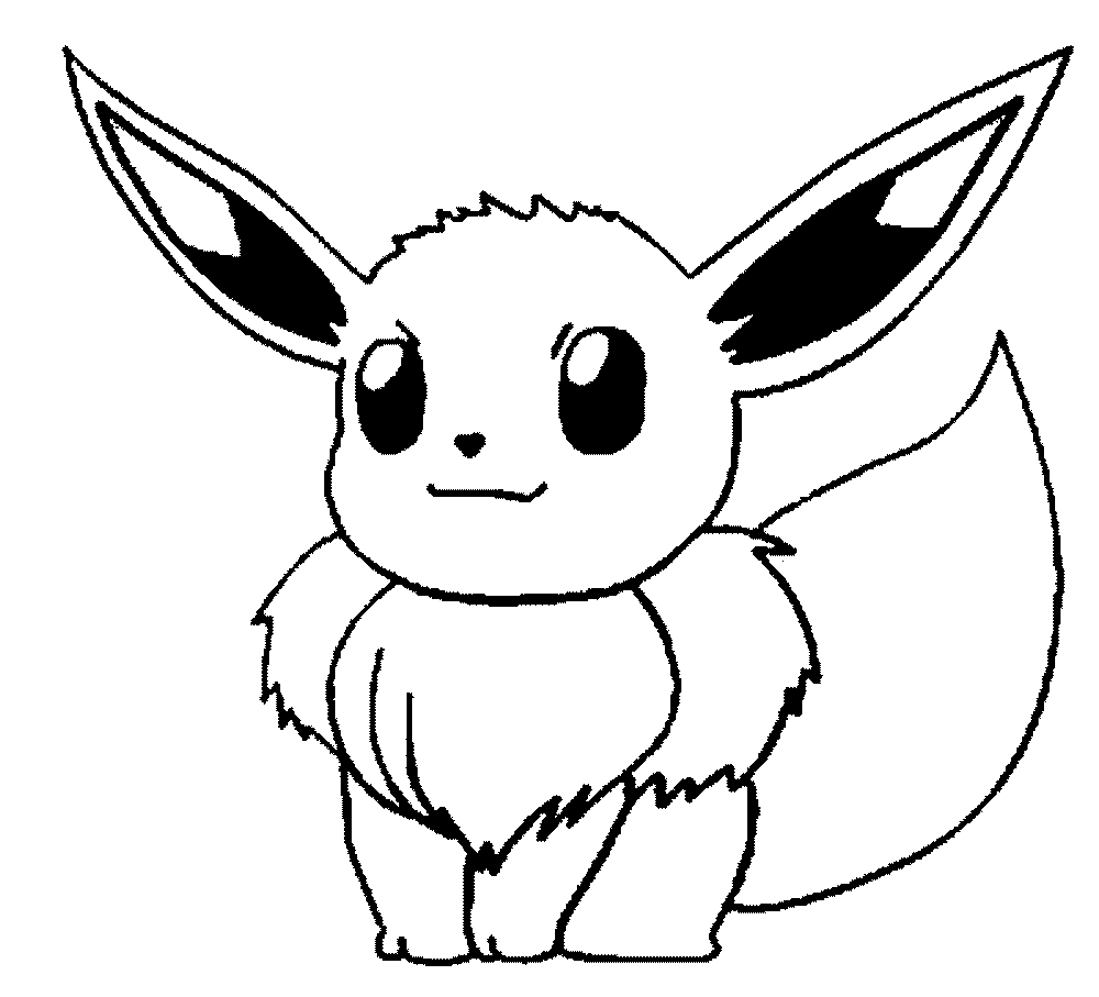 Coloring games of pokemon - Big Ears Pokemon Printable Coloring Pages
