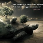 Positive - Negative To Positive Quotes Wallpaper