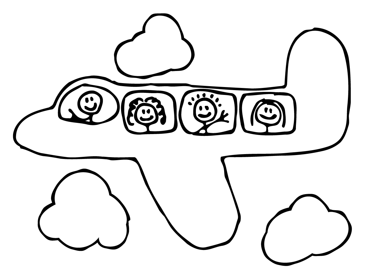 Pre-school-Coloring-Pages-aeroplane