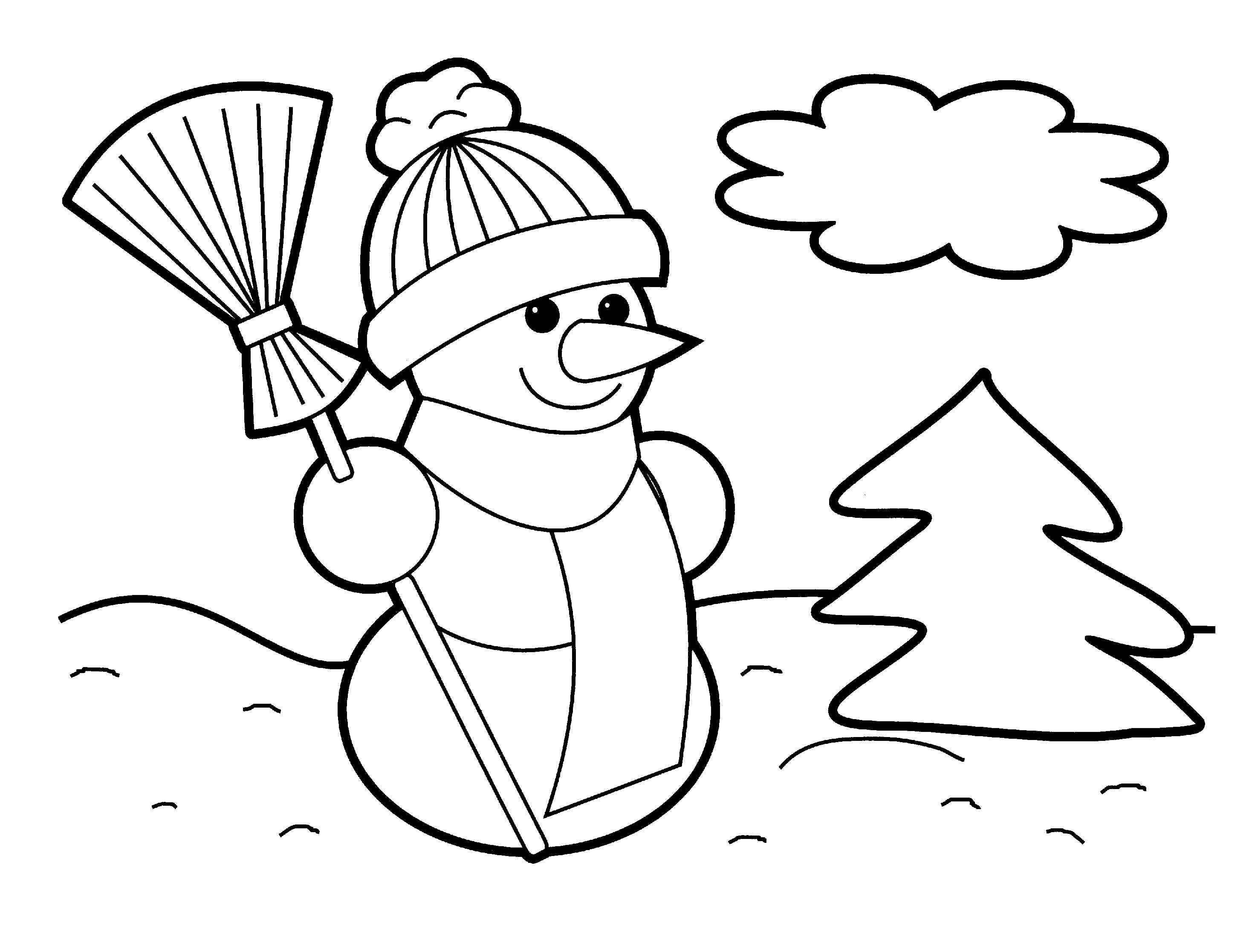 30 preschool coloring pages for kids
