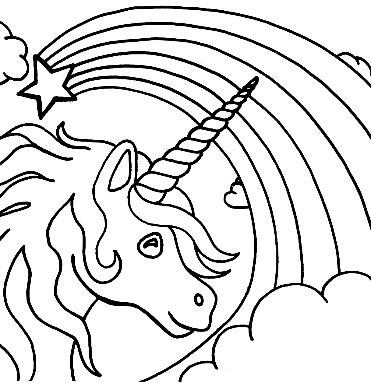 Heart And Rose Coloring Pages #1