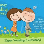 Happy Wedding Anniversary Funny Greetings Cards - 2016