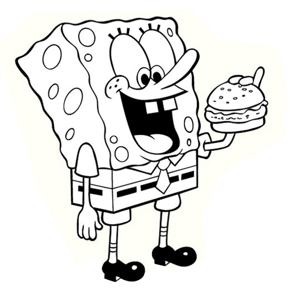 picture relating to Spongebob Printable identify Spongebob-coloring-internet pages-printable - Pleasurable Chap