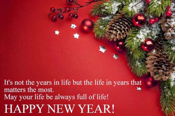 happy new years wishes