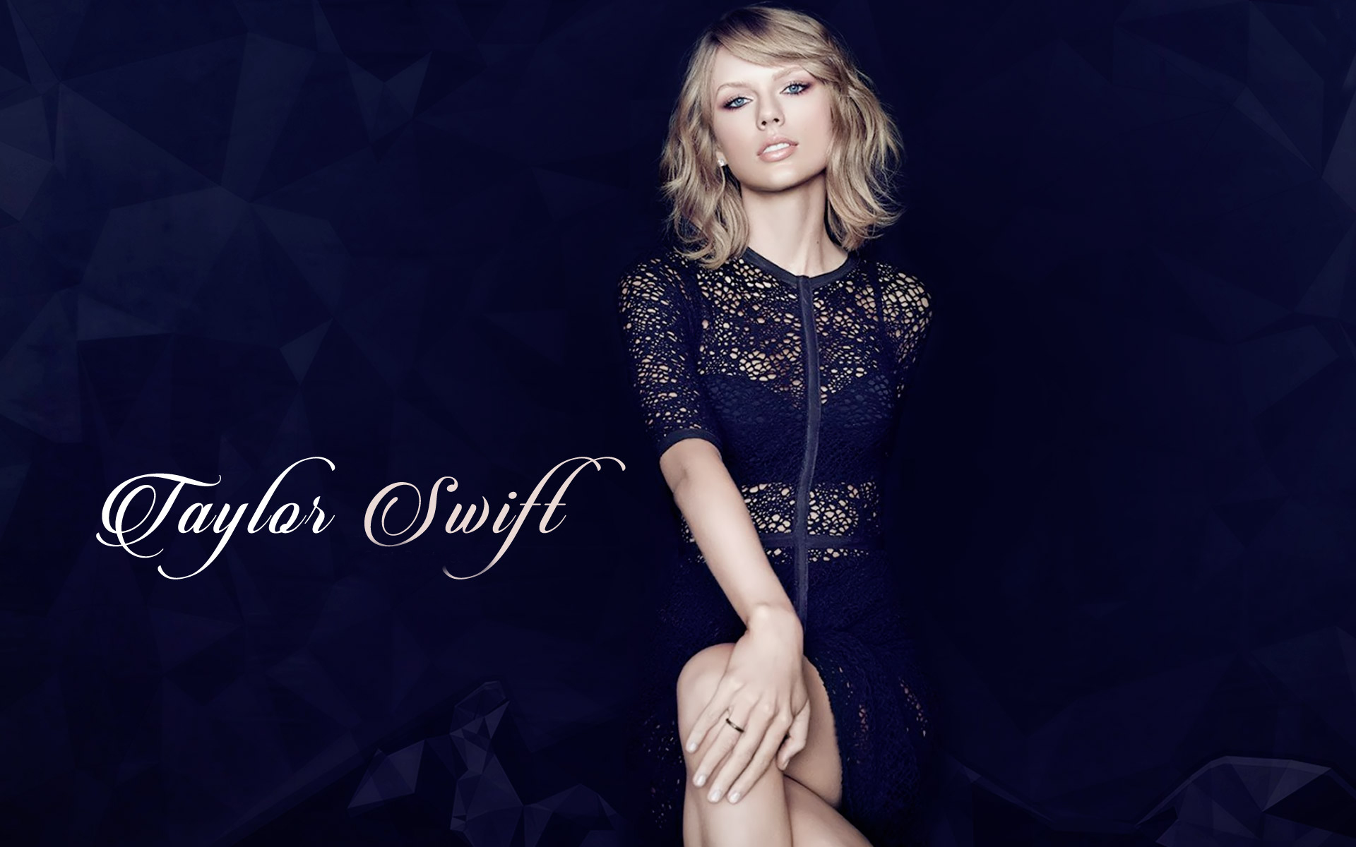 Taylor-Swift-Black-Dress-Beautiful-Wallpapers-HD picture