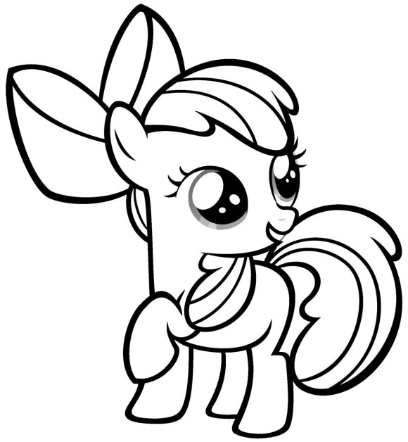 easy-coloring-pages-for-girls-my-little-pony
