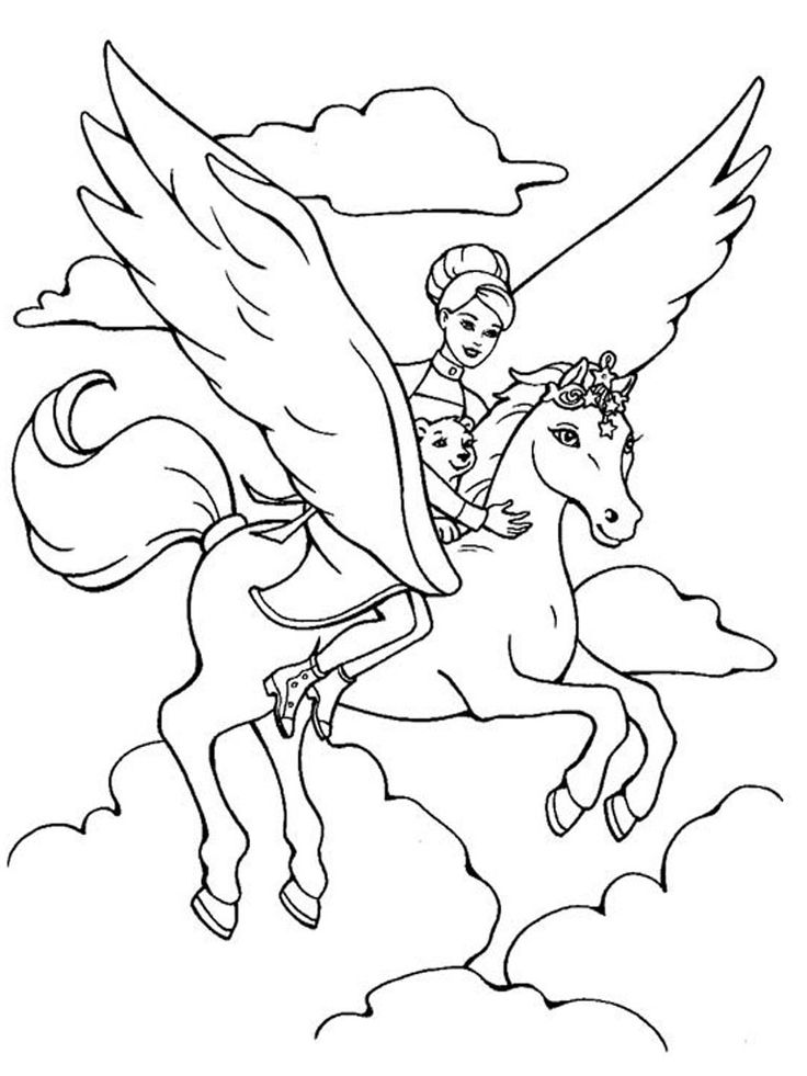 unicorn-barbie-flying-coloring-page